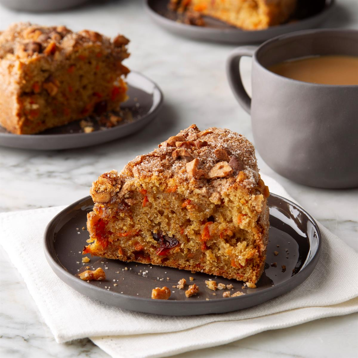 Air Fryer Carrot Coffee Cake Recipe How To Make It Taste Of Home