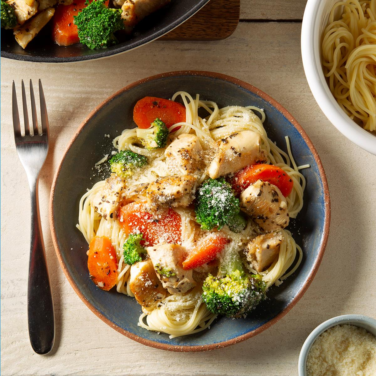 Angel Hair Pasta With Chicken Recipe How To Make It Taste Of Home