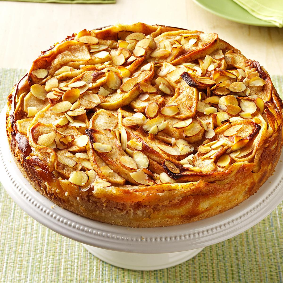 Apple Bavarian Torte Recipe How To Make It Taste Of Home