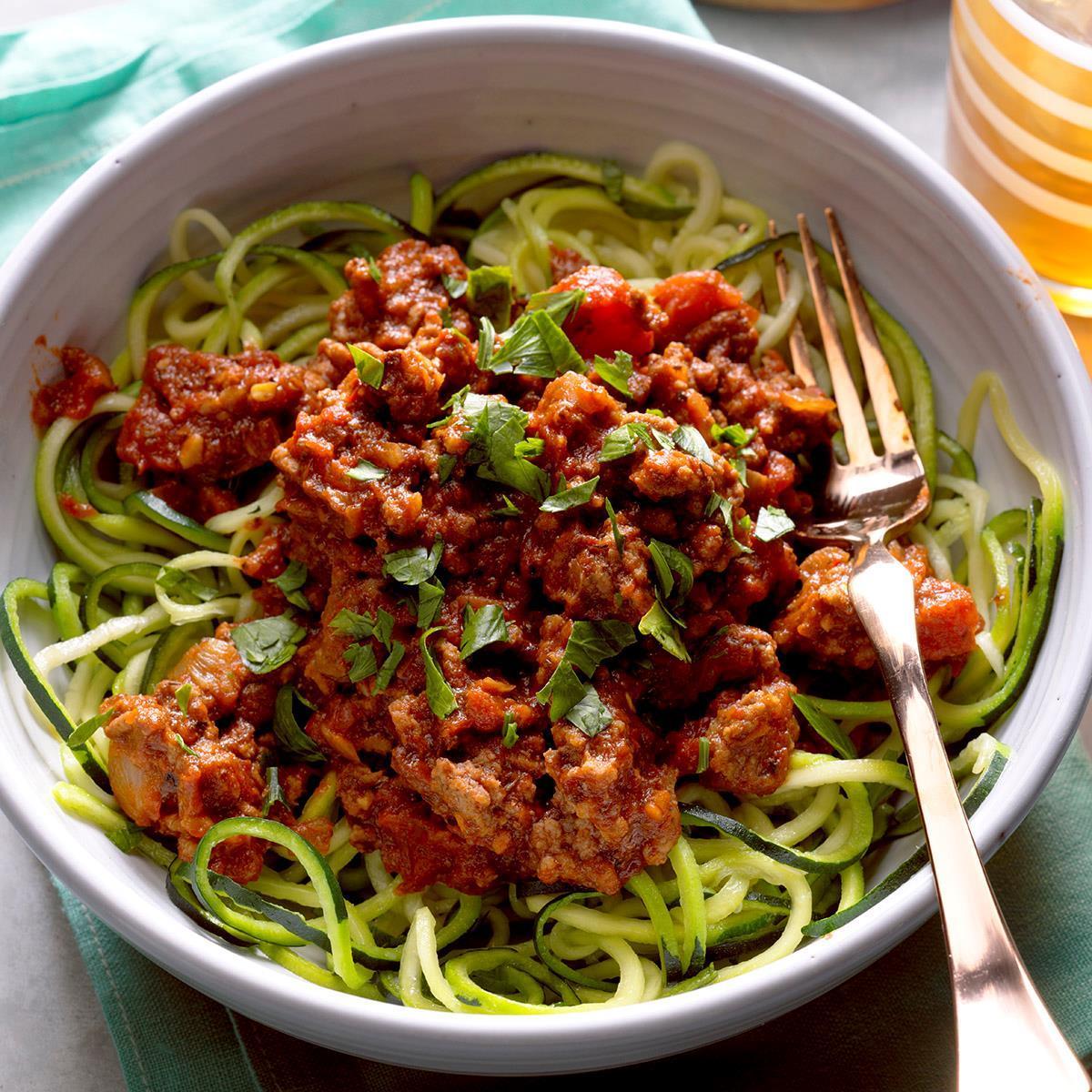 Arrabbiata Sauce with Zucchini Noodles image