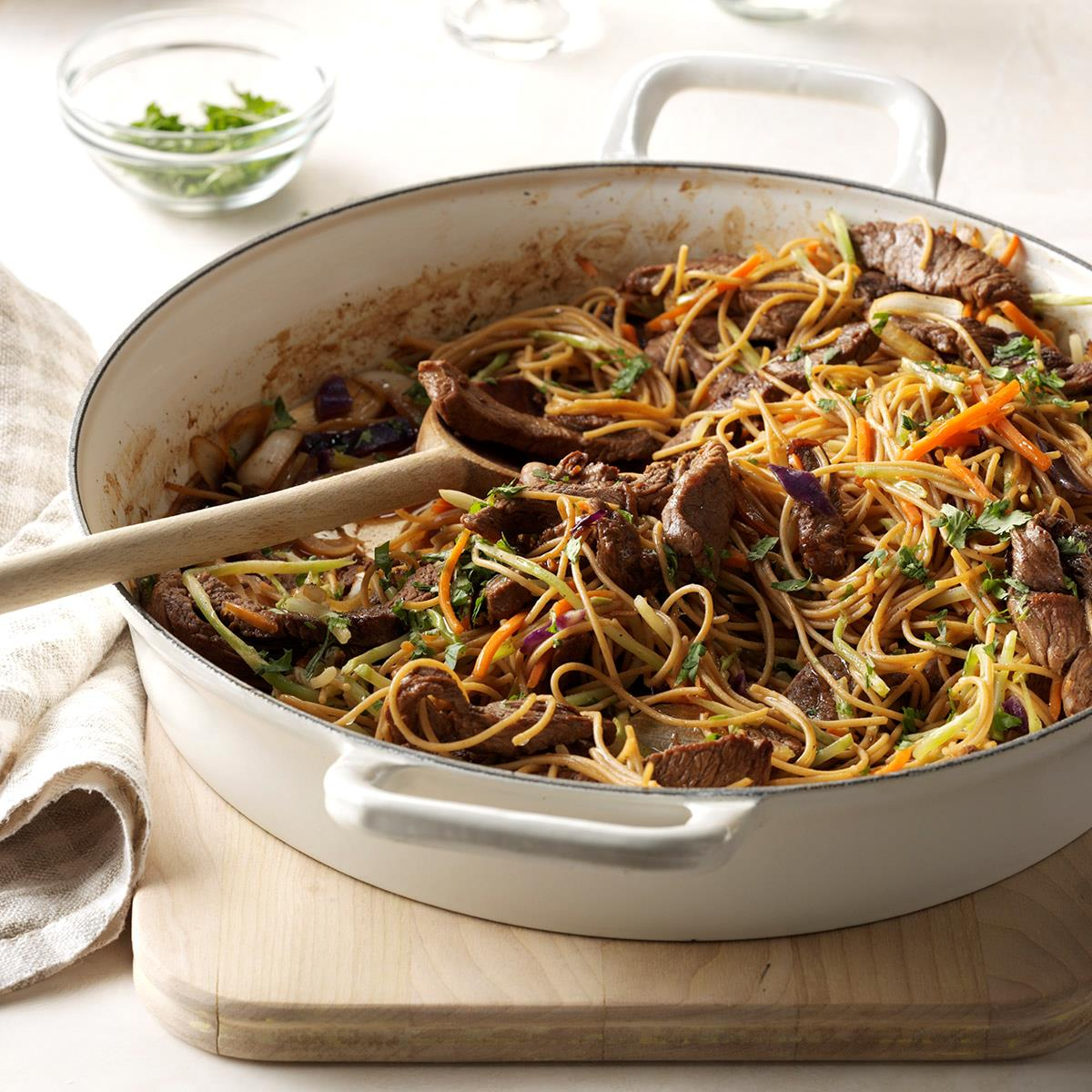 Easy Asian Beef and Noodles image