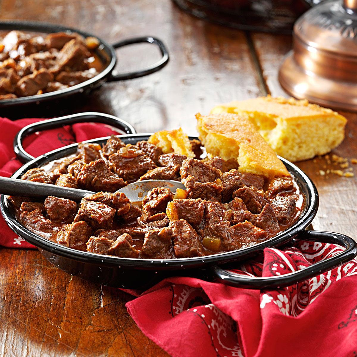 Award Winning Chuck Wagon Chili Recipe How To Make It Taste Of Home