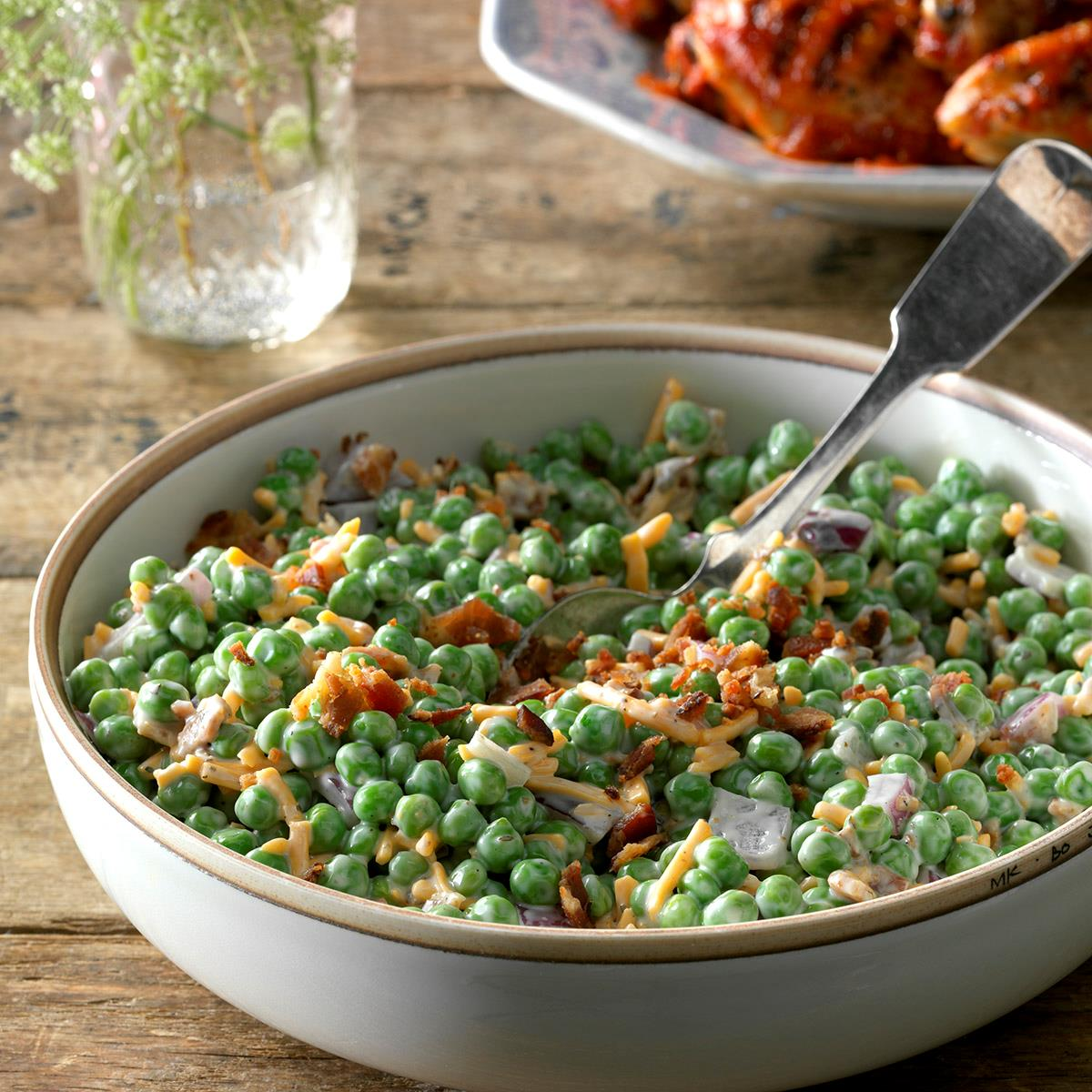 Pea Salad Recipes Frozen