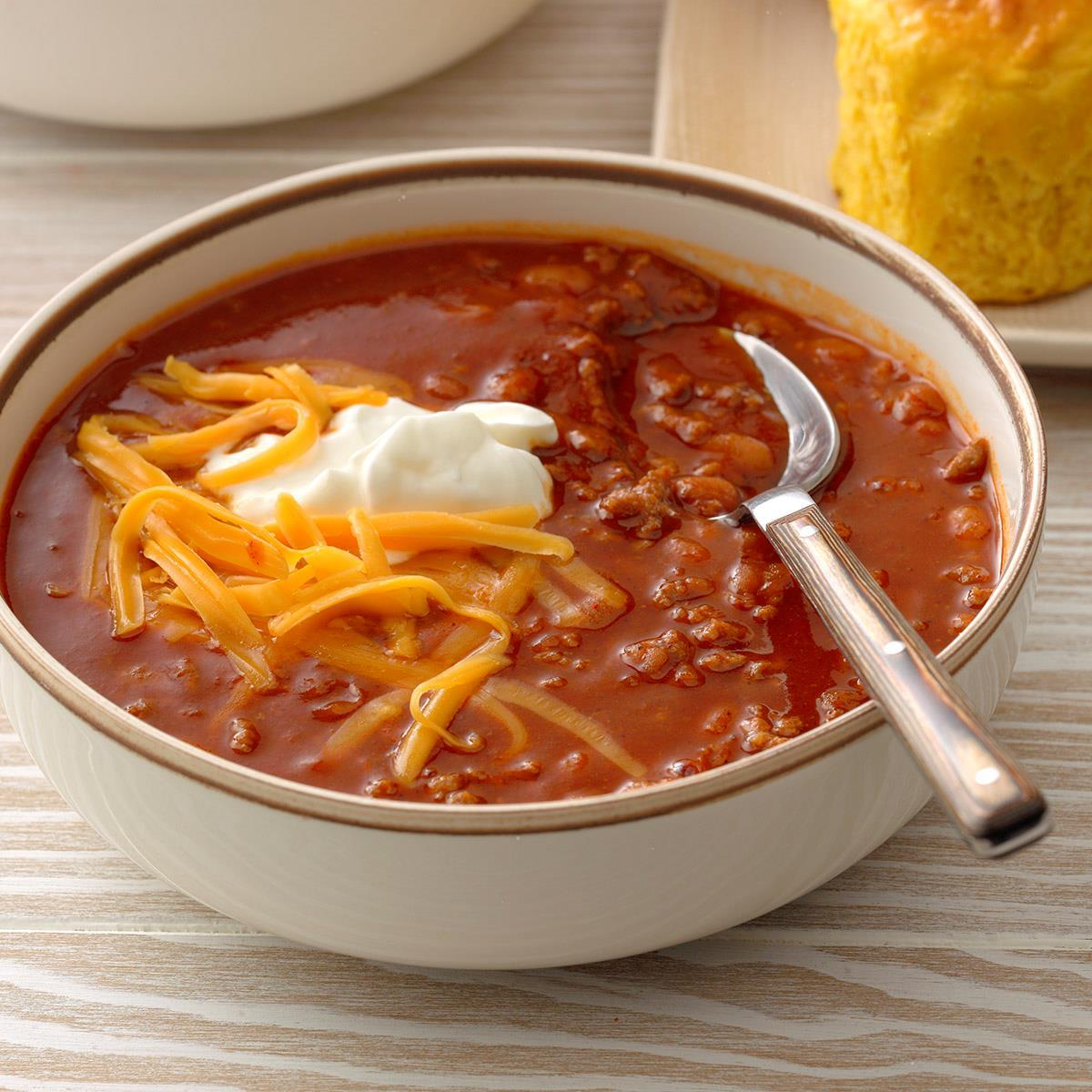 Baked Bean Chili Recipe How To Make It Taste Of Home