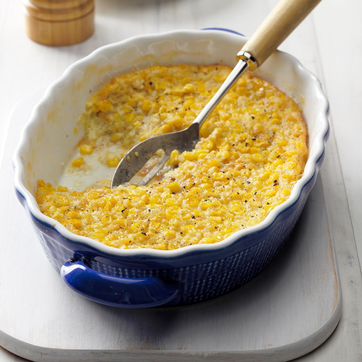 Baked Corn Pudding image