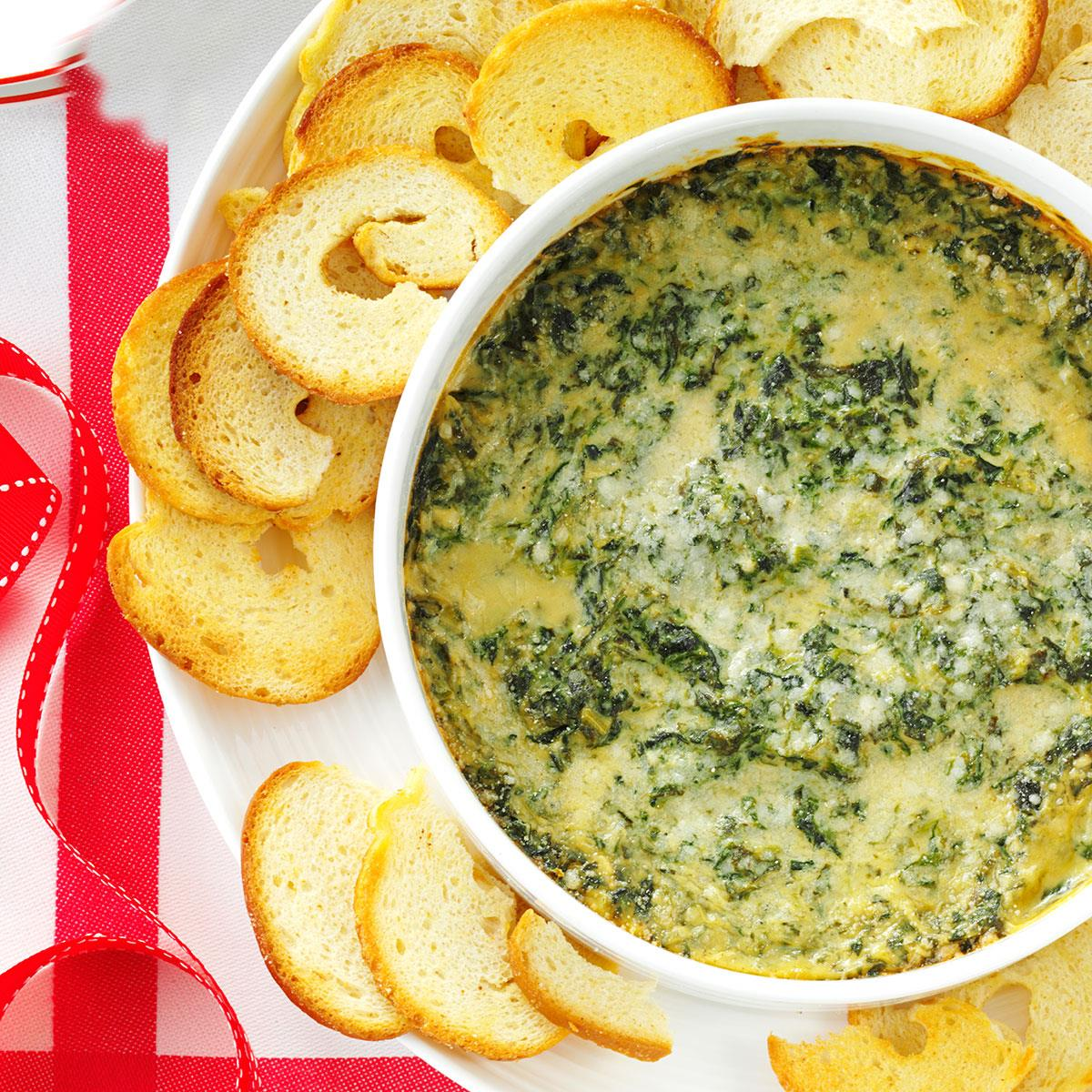 Baked Creamy Spinach Dip_image