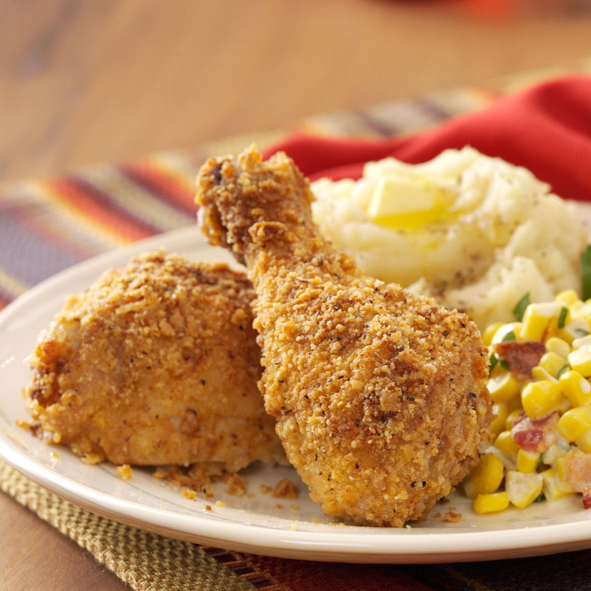 Baked Crunchy Chicken image