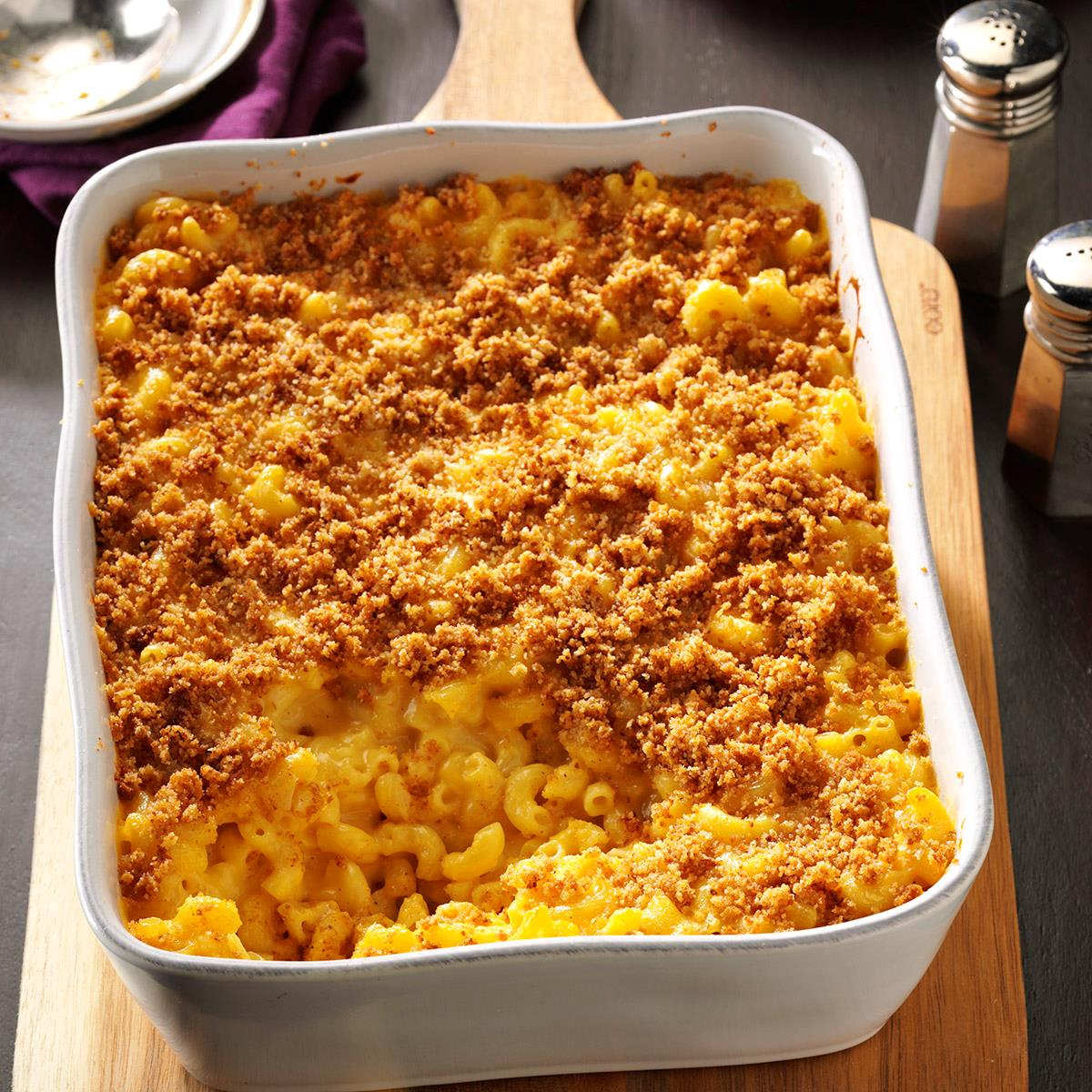 Baked Mac And Cheese Recipe Taste Of Home