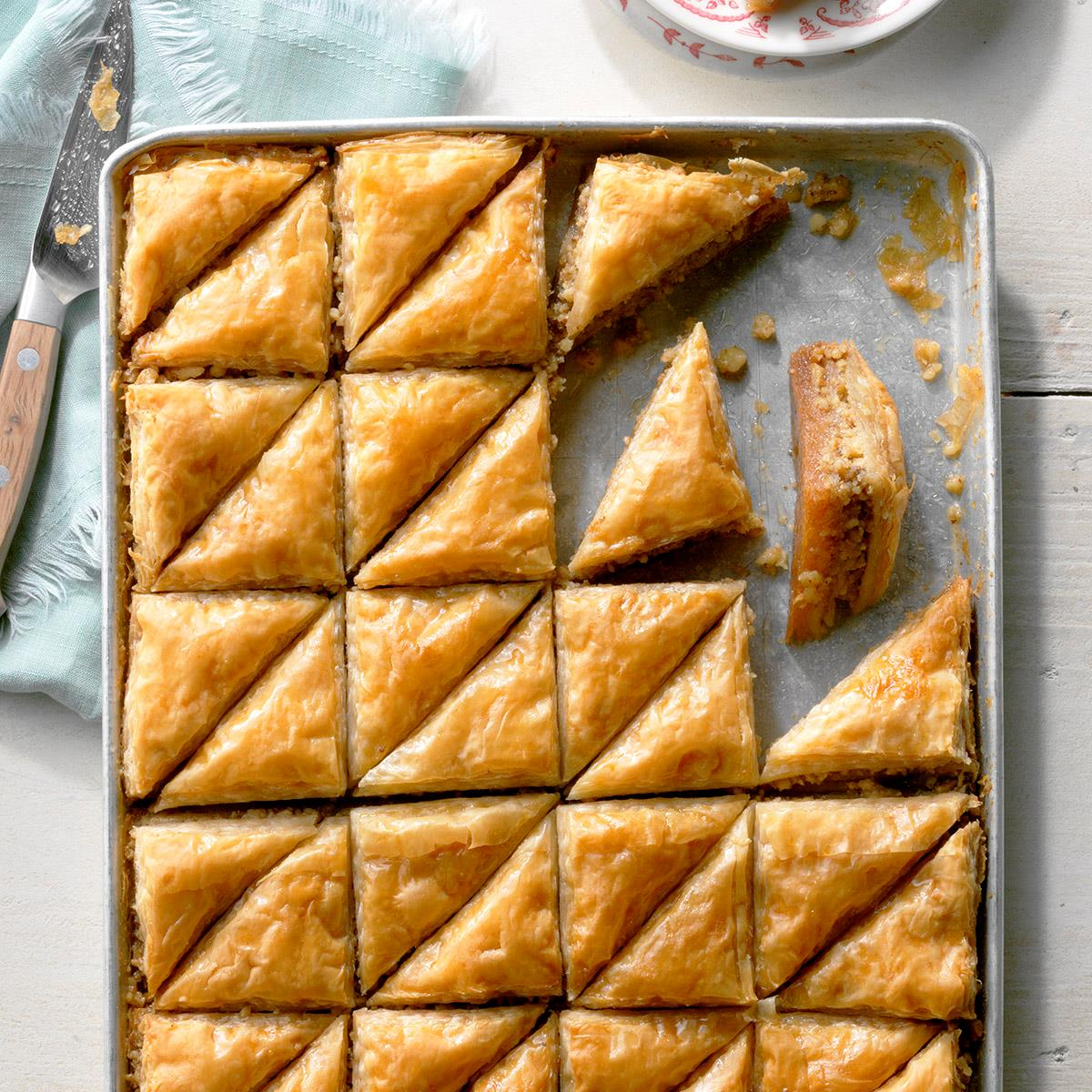 Baklava Recipe How To Make It Taste Of Home