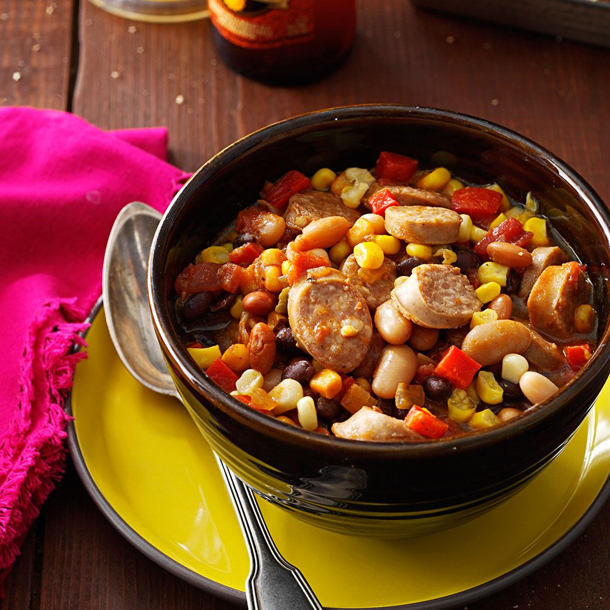 Beer Brat Chili Recipe How To Make It Taste Of Home