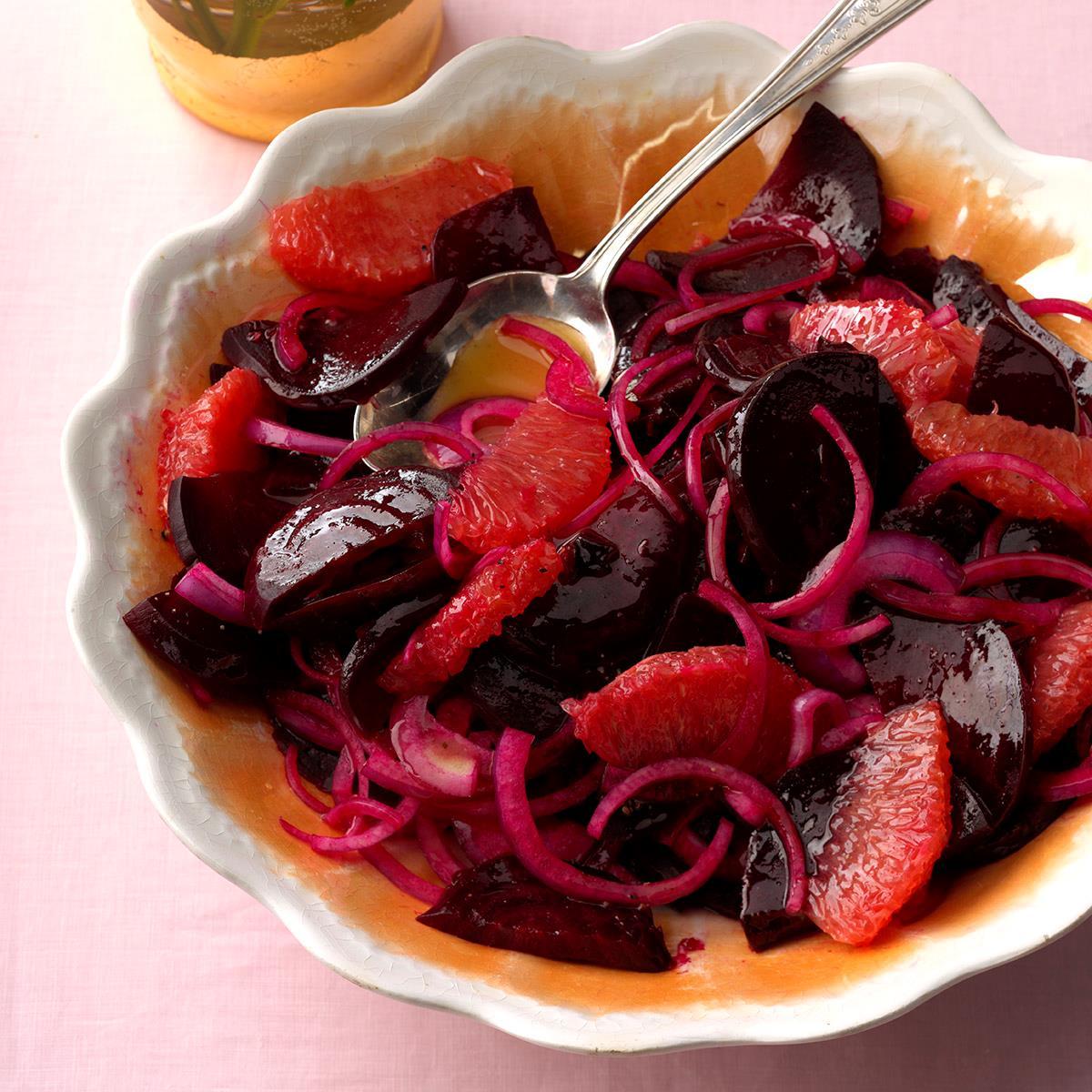 Beet, Grapefruit & Onion Salad image