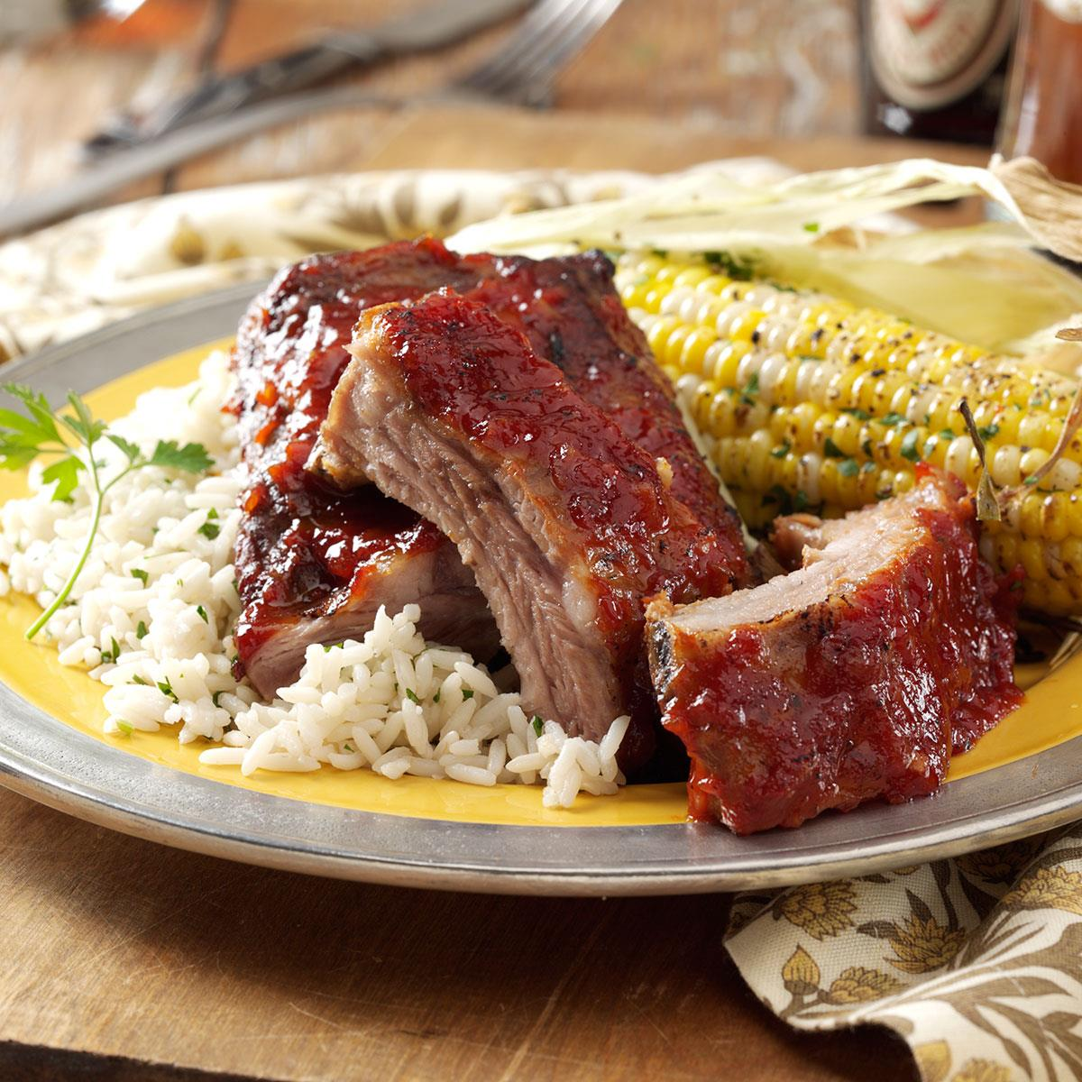 Oven Roasted Baby Back Ribs Recipe How To Make It Taste Of Home