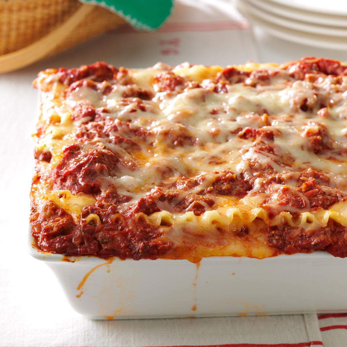 Best Lasagna Recipe How To Make It Taste Of Home