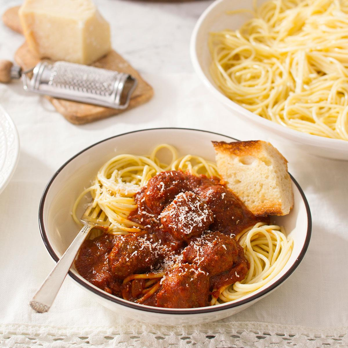Best Spaghetti And Meatballs Recipe How To Make It Taste Of Home