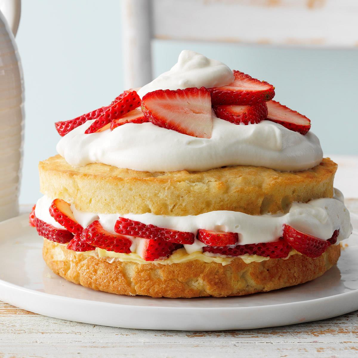 Best Strawberry Shortcake Recipe How To Make It Taste Of Home