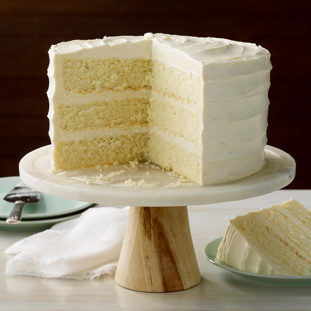 Best Vanilla Cake Recipe How To Make It Taste Of Home