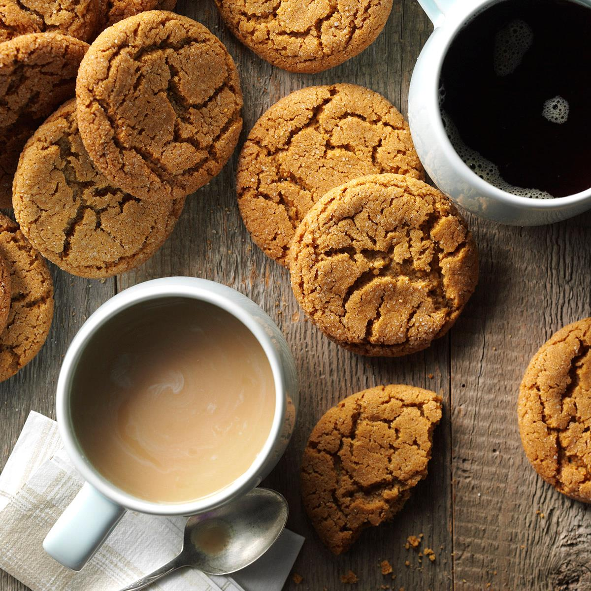 Big Soft Ginger Cookies Recipe How To Make It Taste Of Home