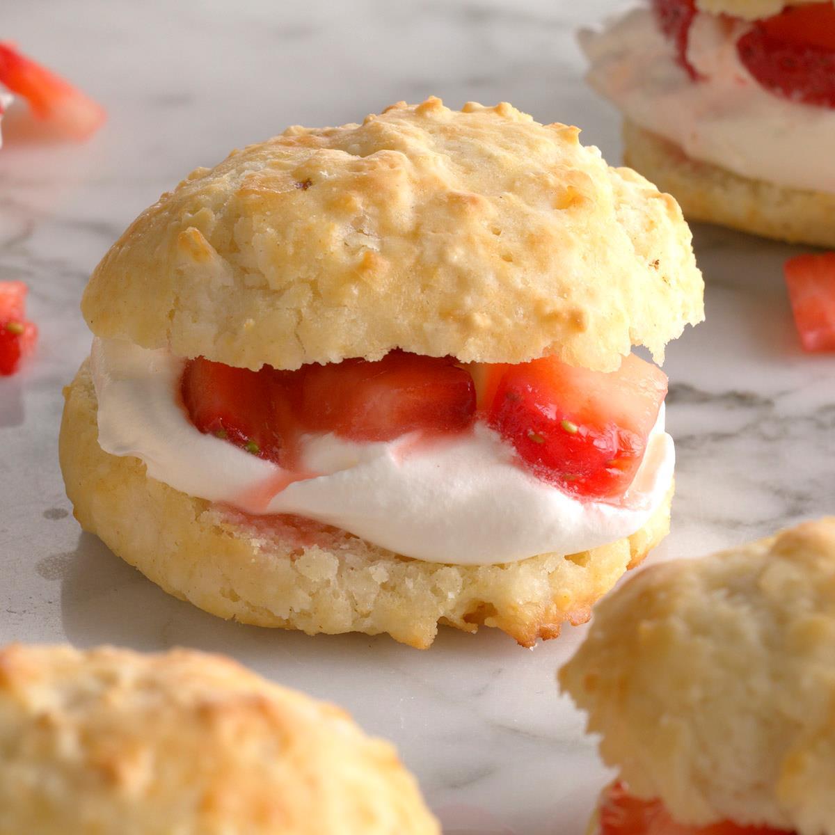 Biscuit Strawberry Shortcake image