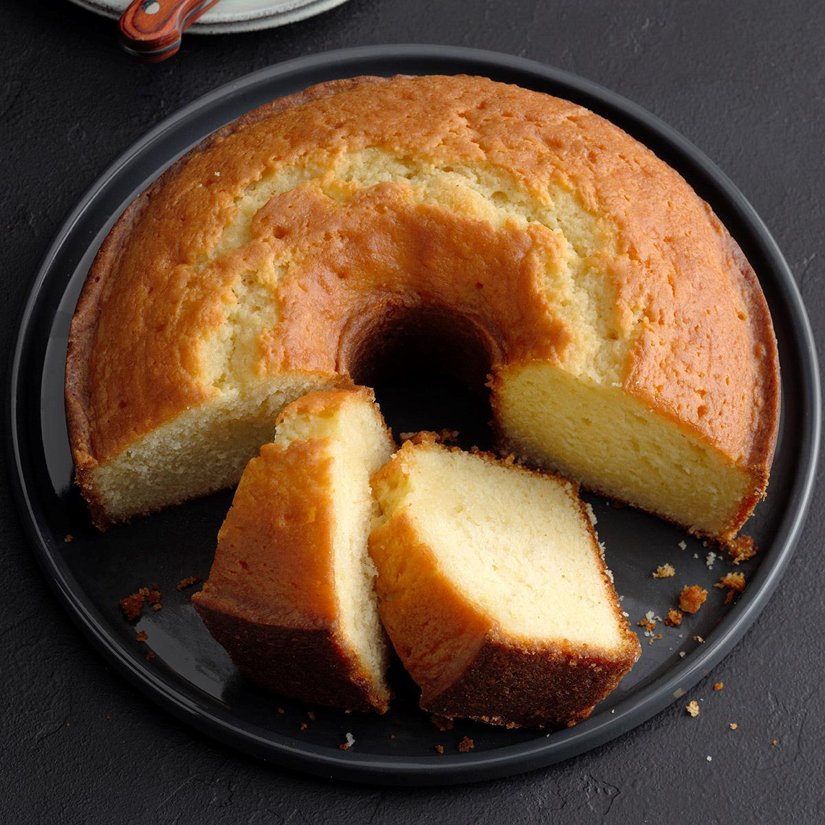 Blue Ribbon Butter Cake Recipe How To Make It Taste Of Home