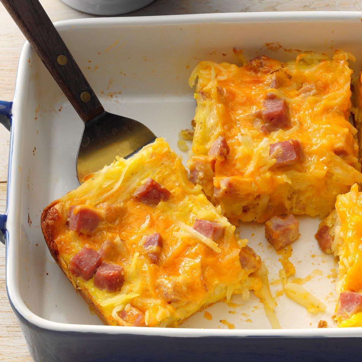Breakfast In A Pan Recipe Taste Of Home