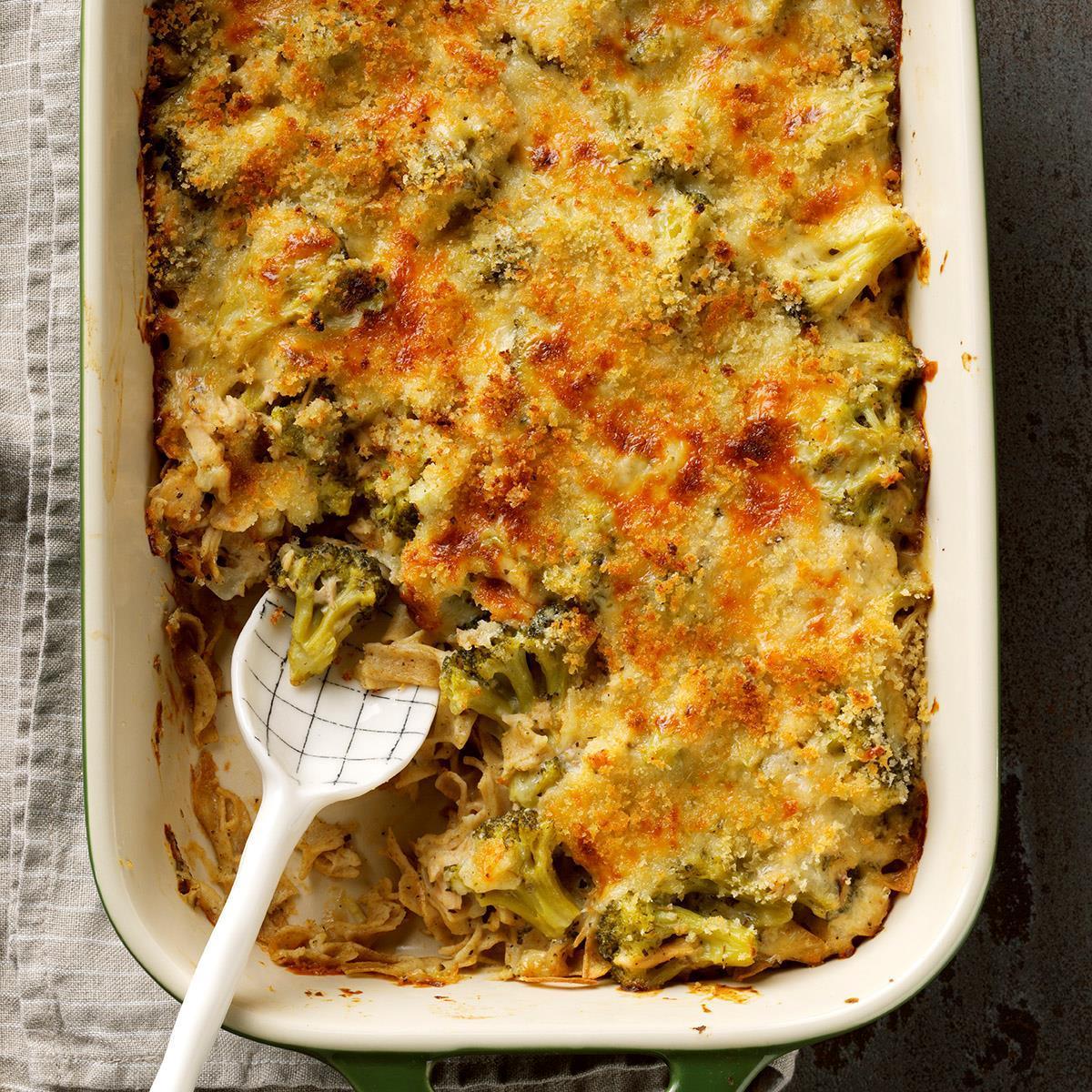 Broccoli Tuna Casserole Recipe How To Make It Taste Of Home
