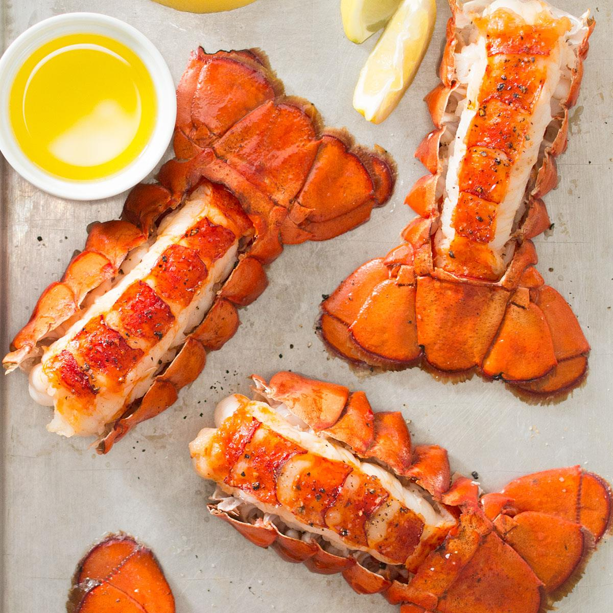 Broiled Lobster Tail Recipe How To Make It Taste Of Home