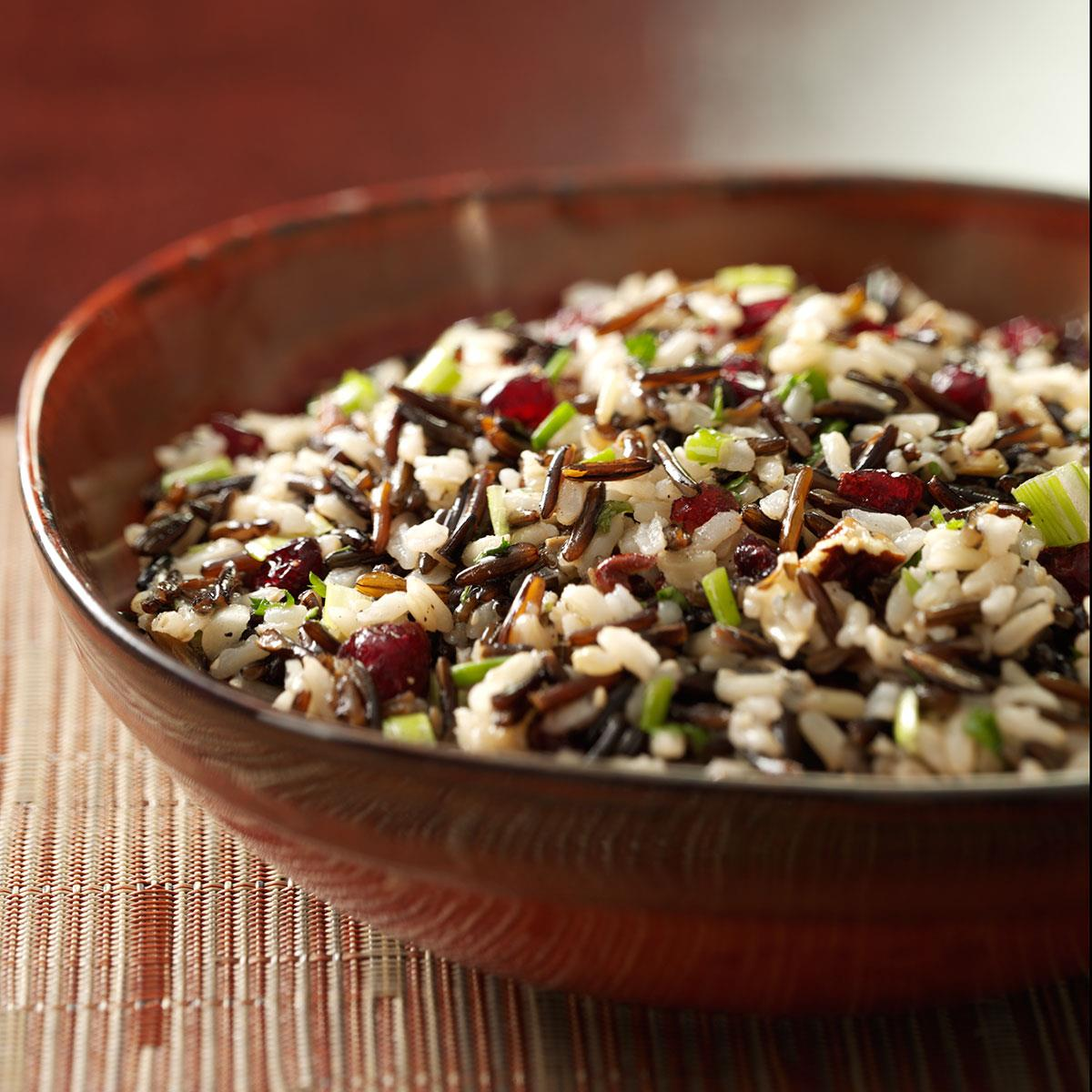 Brown and Wild Rice Salad image