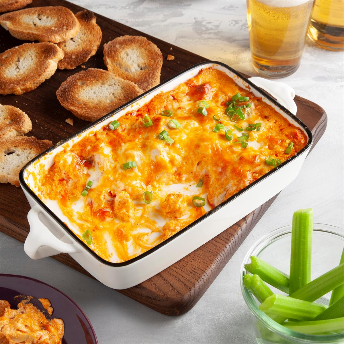 Buffalo Chicken Dip Recipe How To Make It Taste Of Home