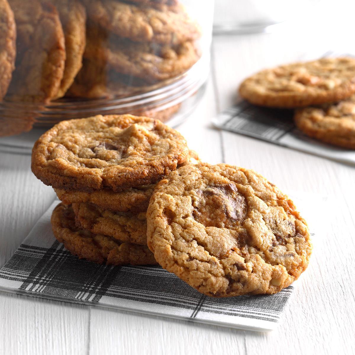 Butterfinger Cookies image