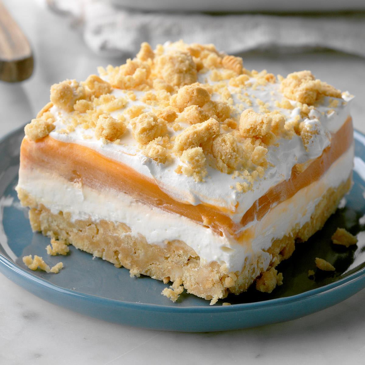 Butterscotch Pudding Torte image