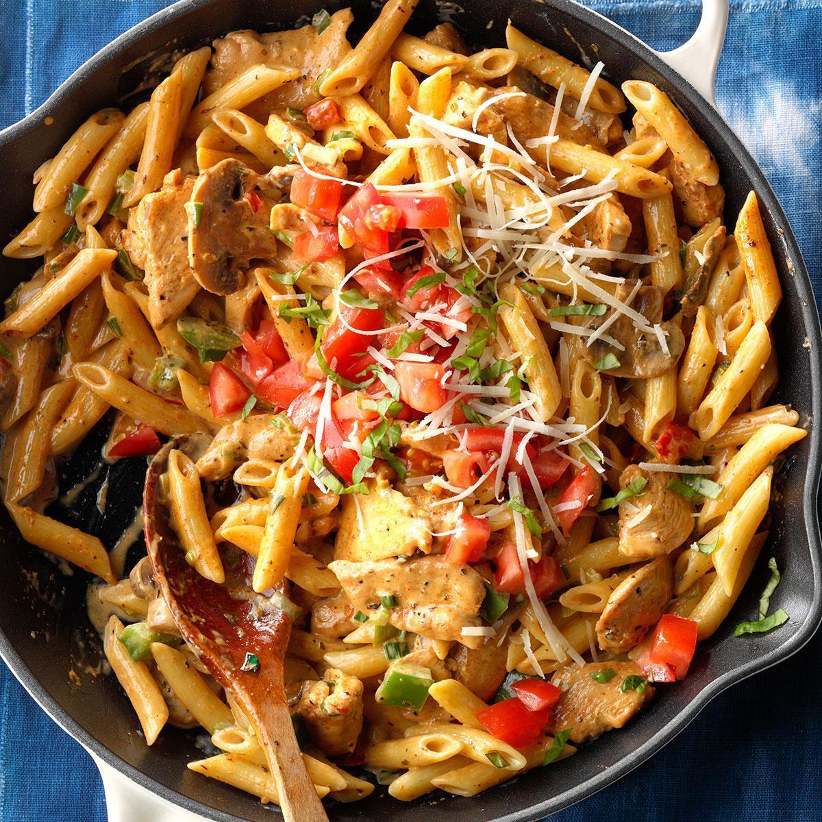 Cajun Chicken & Pasta image