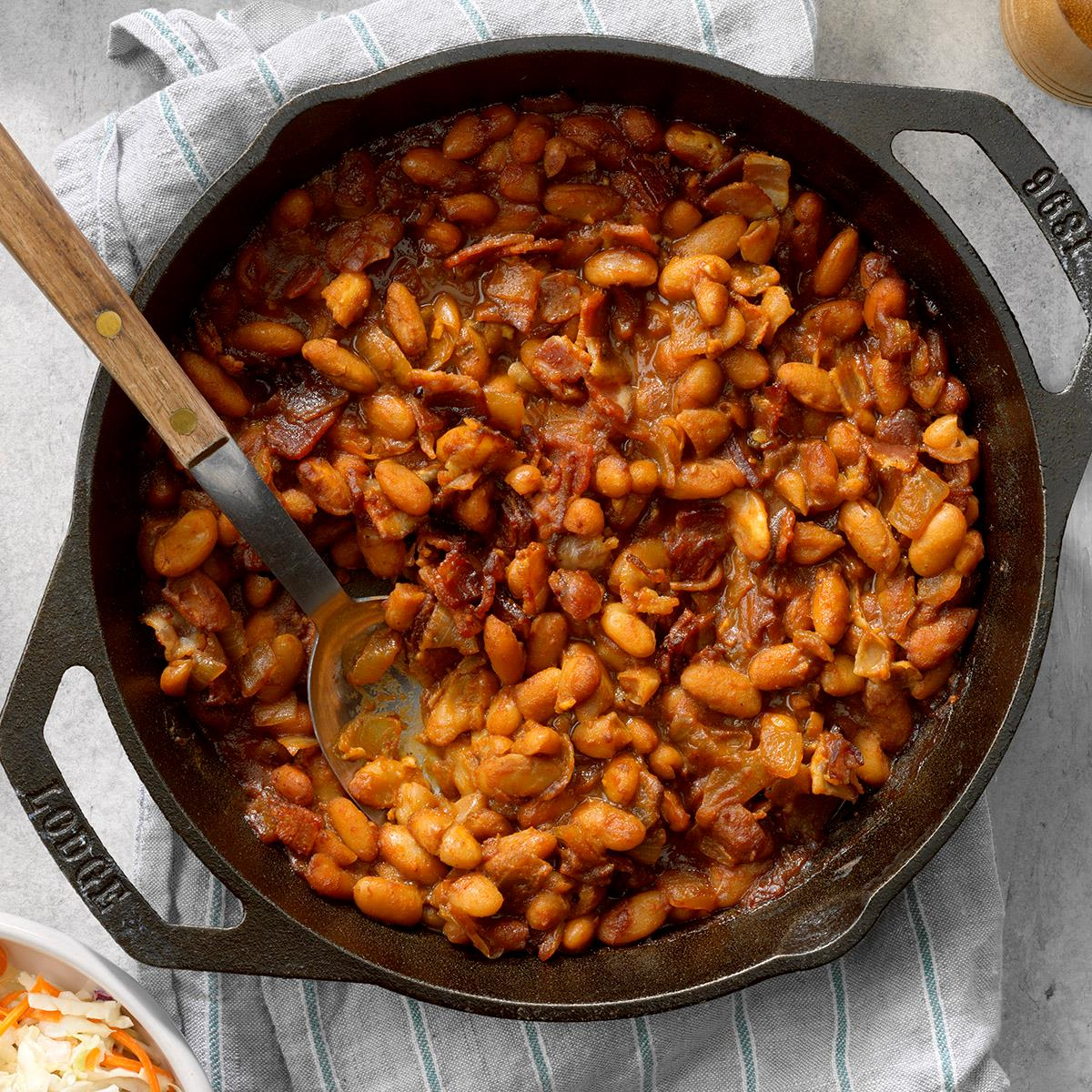 Baked Cannellini Beans Recipe How To Make It Taste Of Home