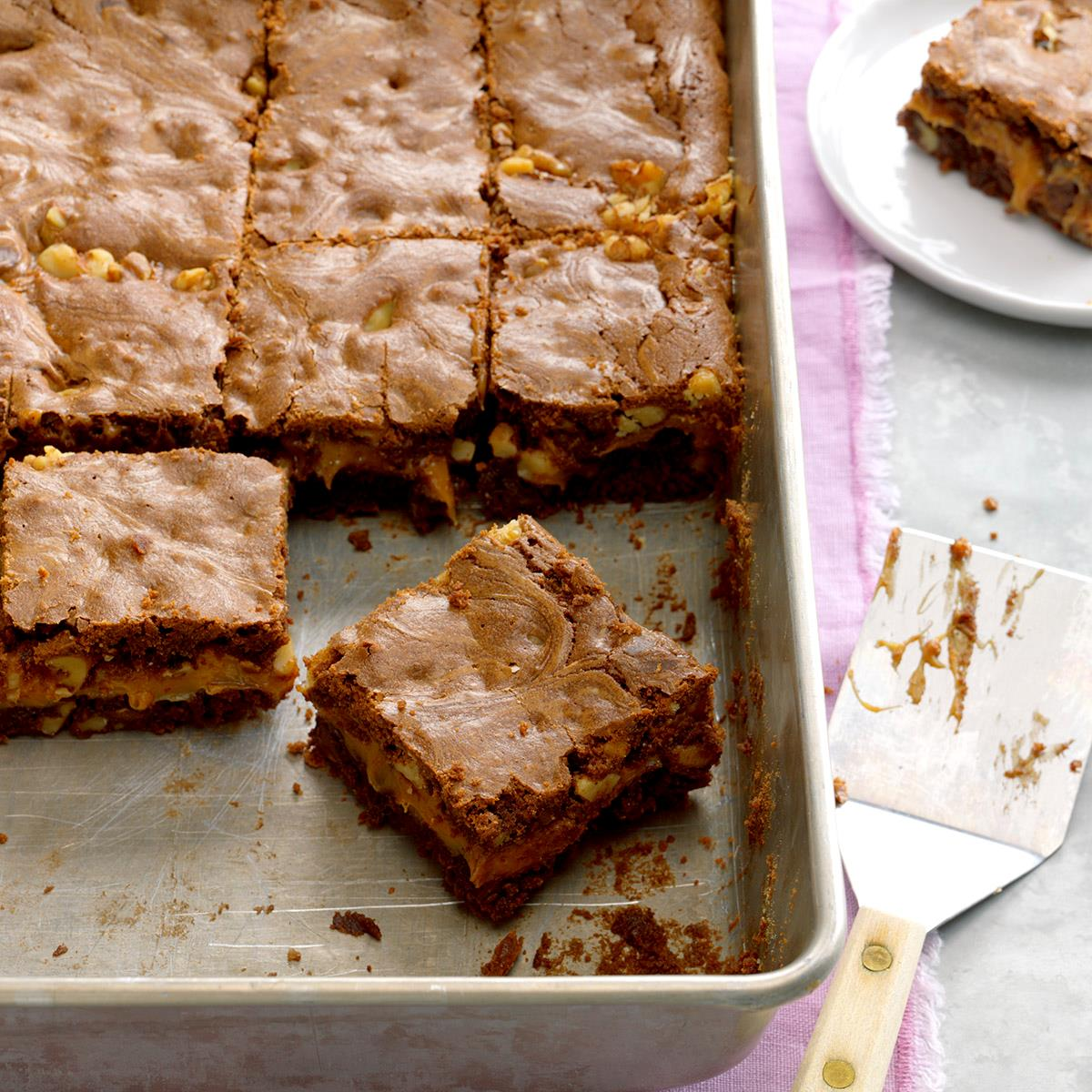 Caramel Brownies Recipe How To Make It Taste Of Home