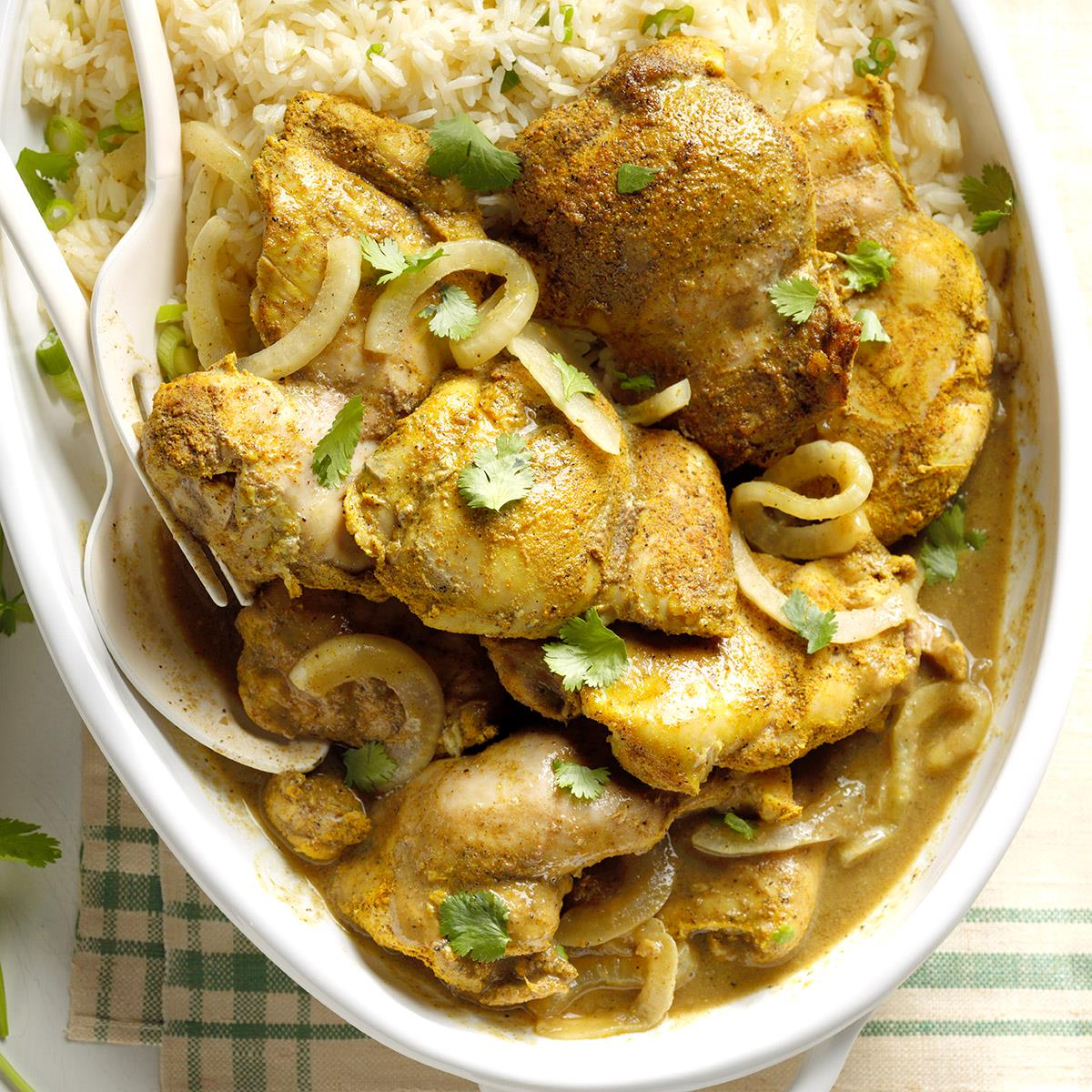Caribbean Curried Chicken image