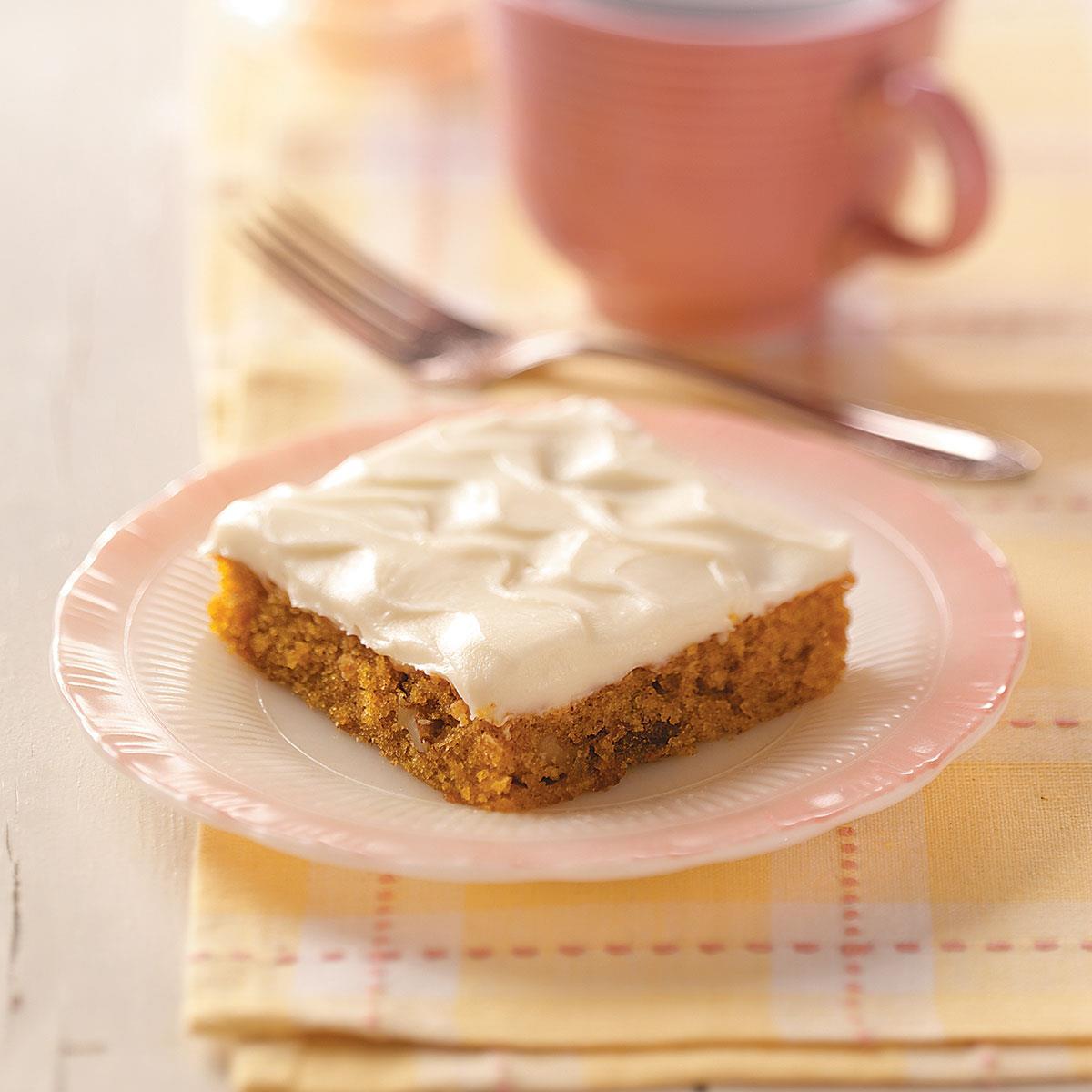 Carrot Cake Bars image