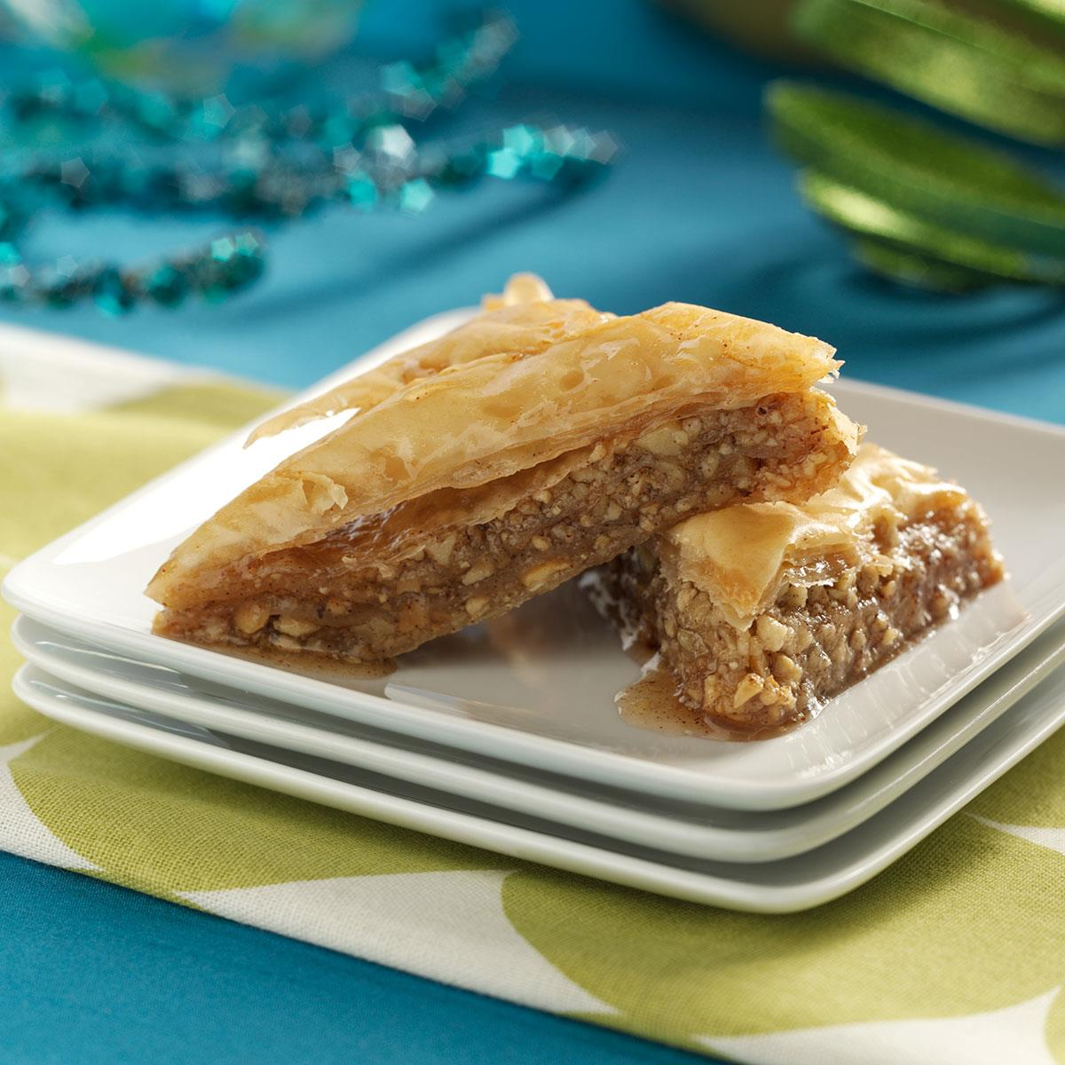 Cashew Baklava Recipe How To Make It Taste Of Home