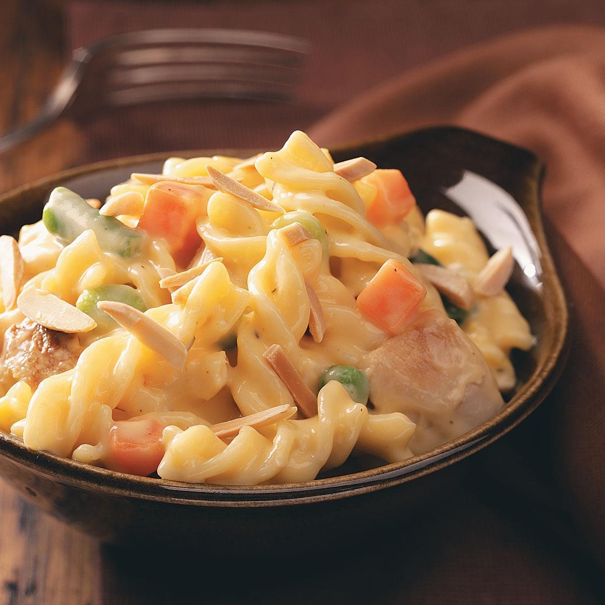 Cheddar Turkey Casserole Recipe How To Make It Taste Of Home