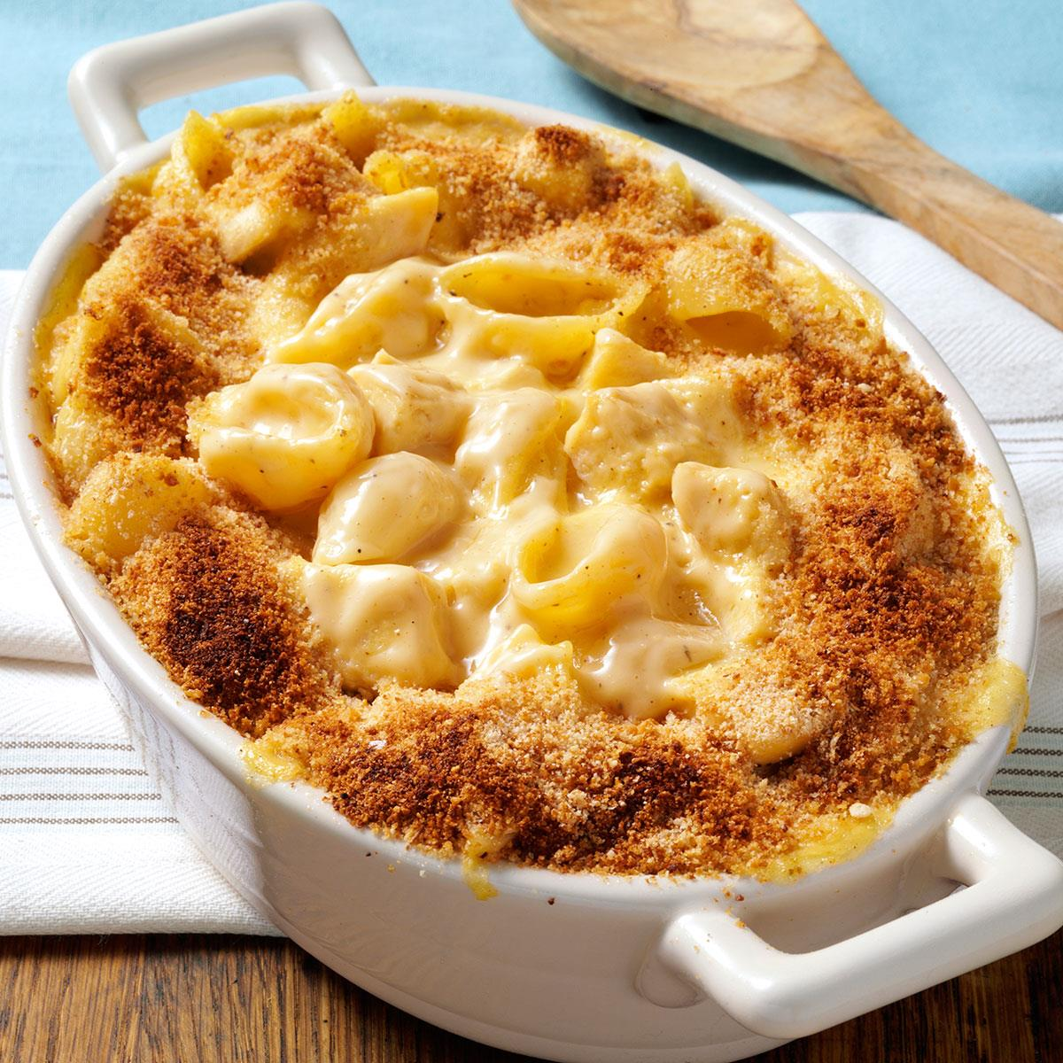Cheesy Chicken N Shells Recipe How To Make It Taste Of Home