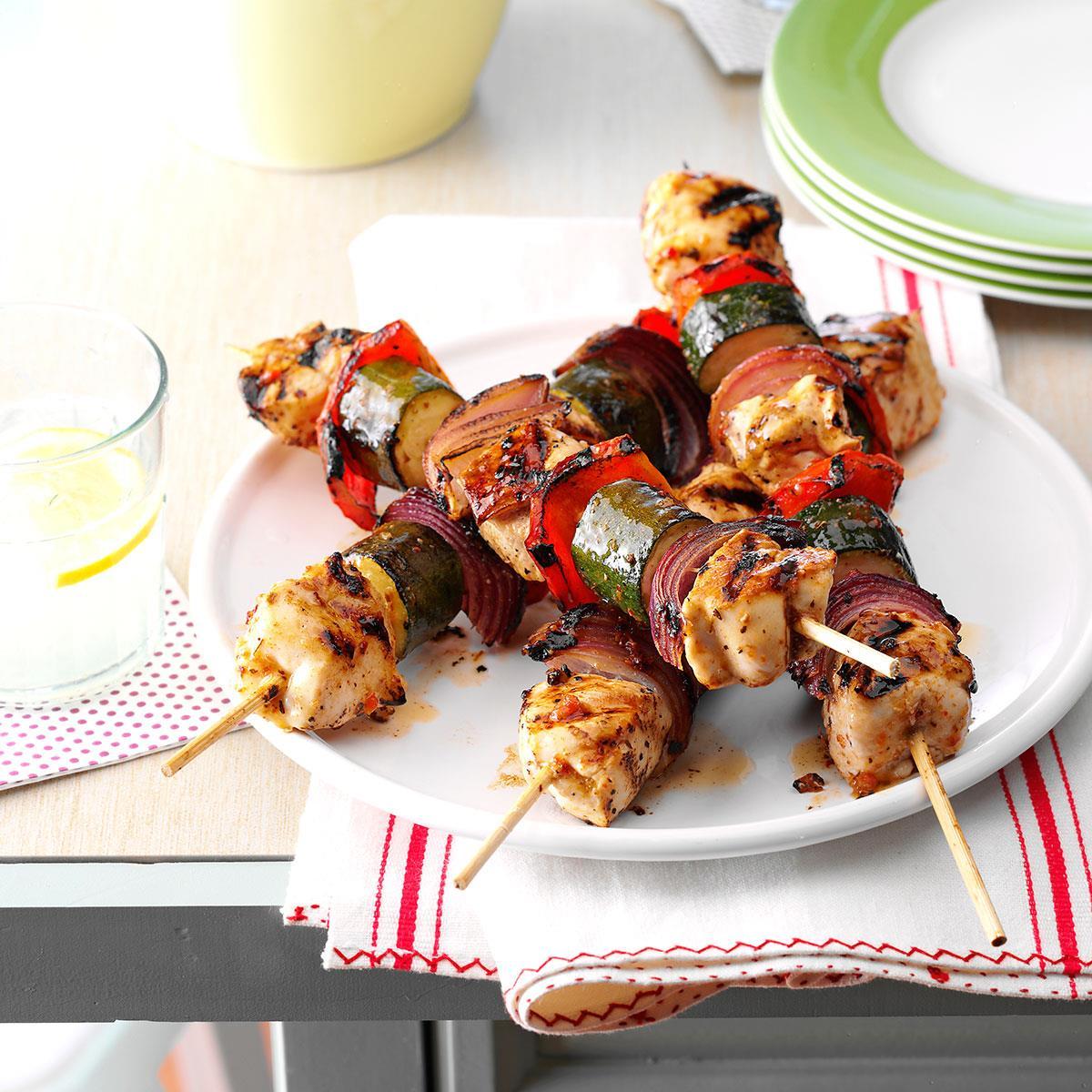 Chicken & Vegetable Kabobs image