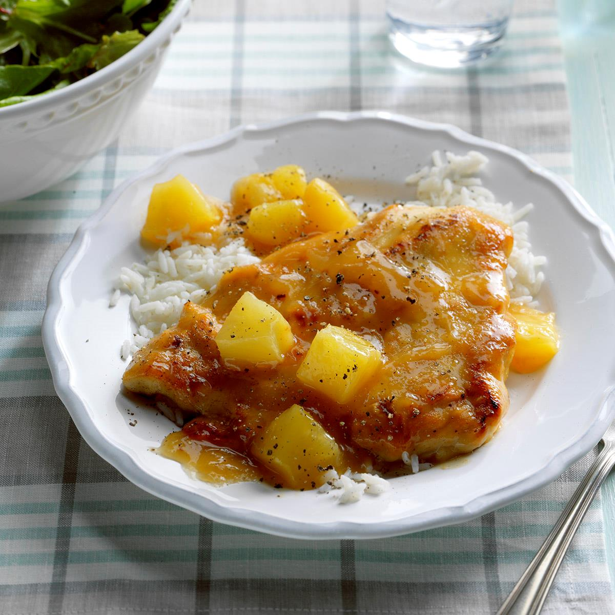 Chicken With Pineapple Recipe How To Make It Taste Of Home