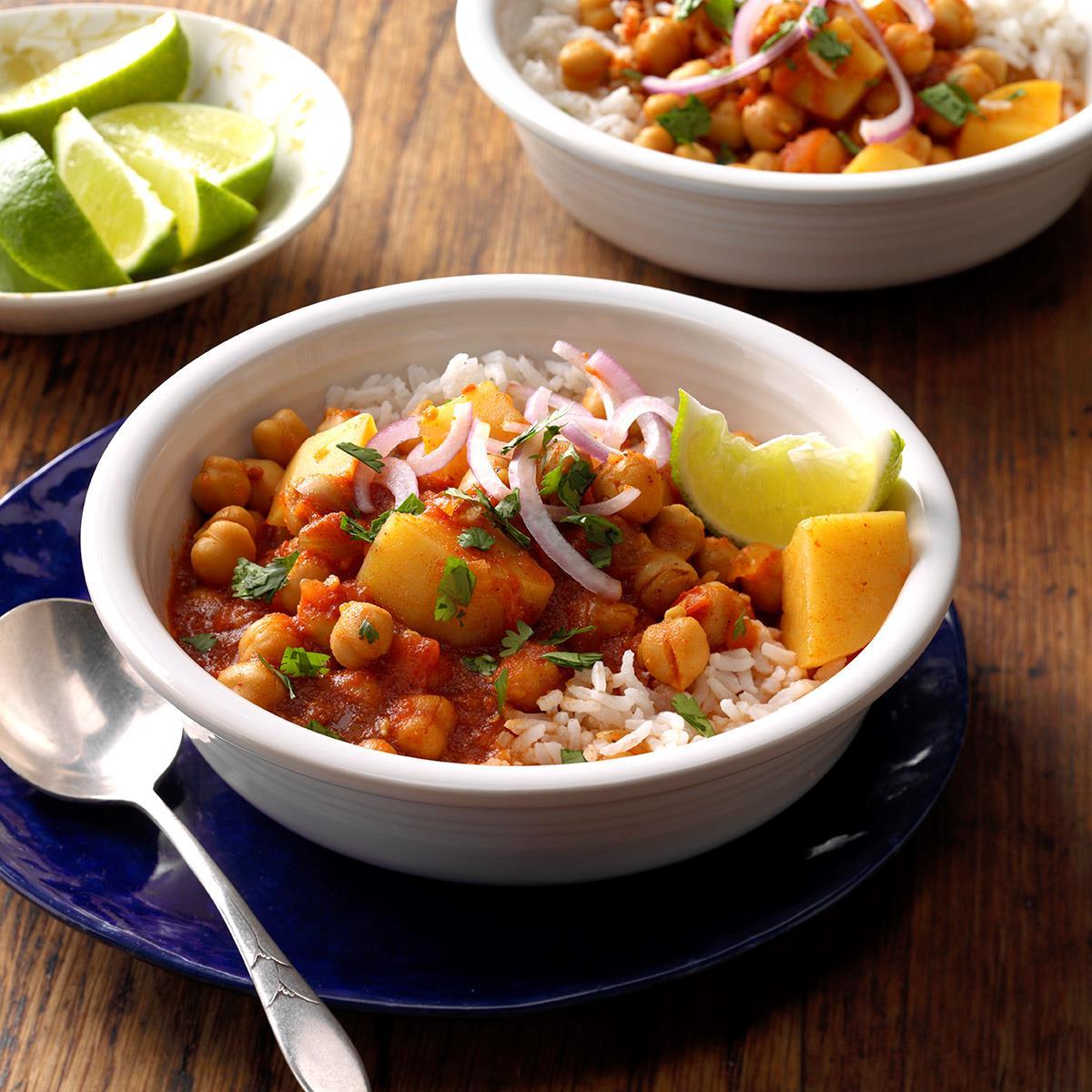 Chickpea & Potato Curry image