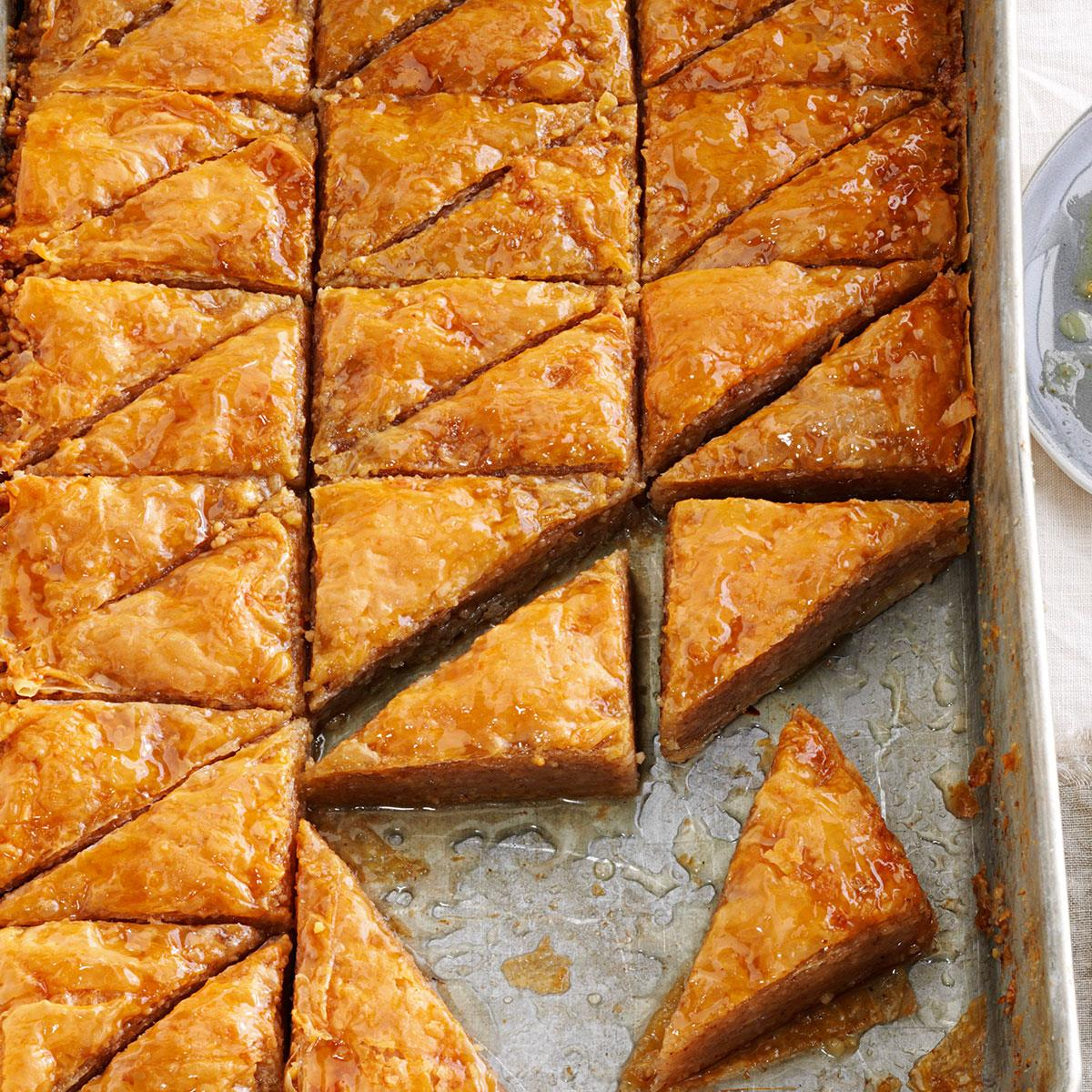 Chipotle Orange Baklava Recipe How To Make It Taste Of Home