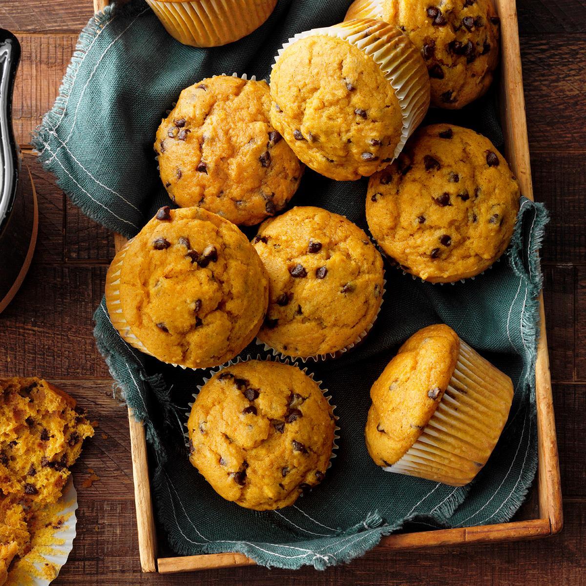 Chocolate Chip Pumpkin Muffins