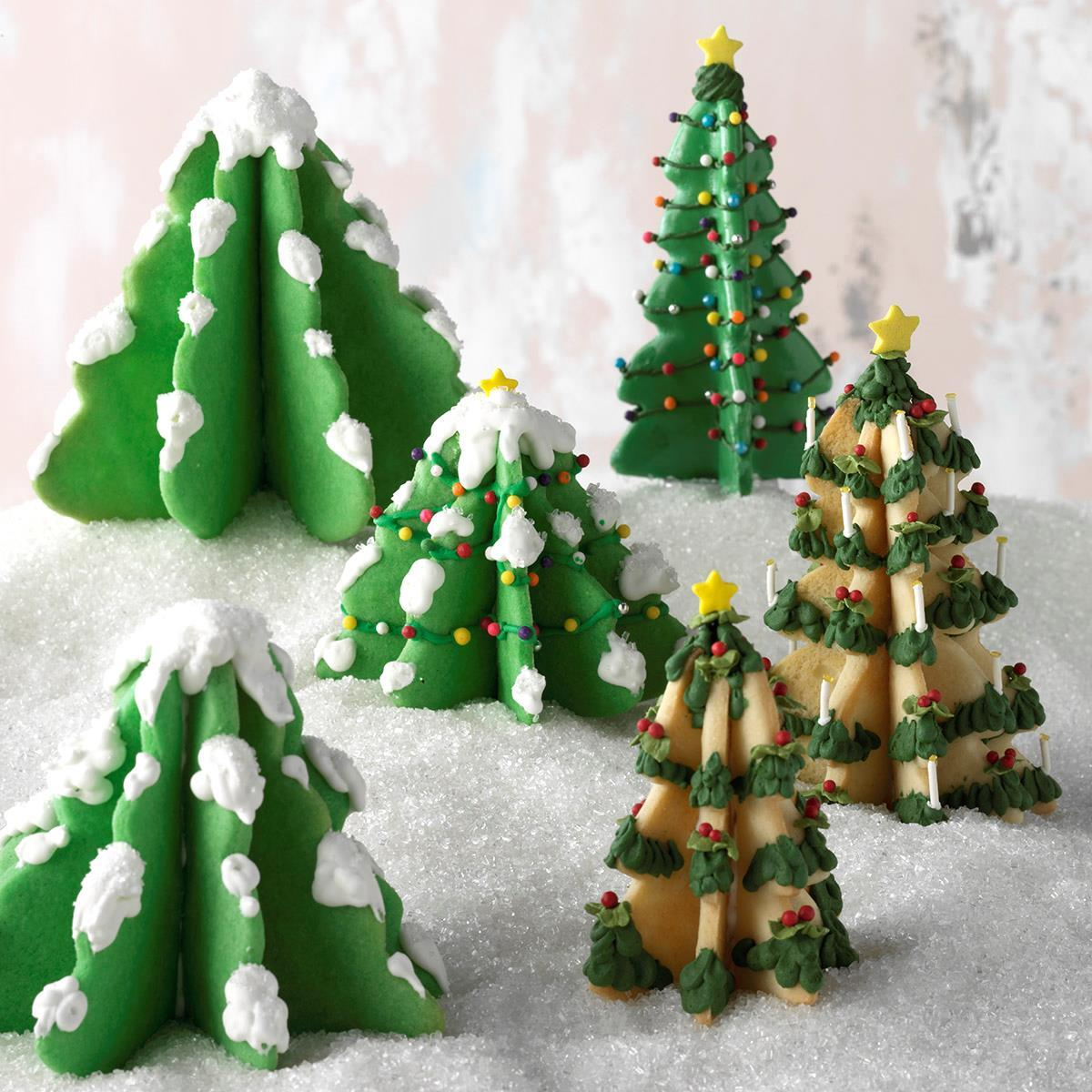 Christmas Tree Cookies image