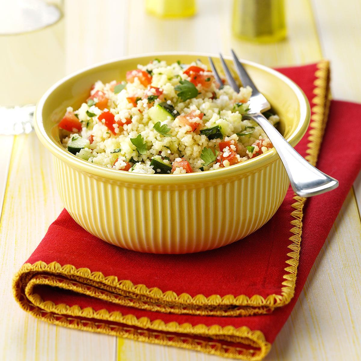 Cilantro Couscous Salad image