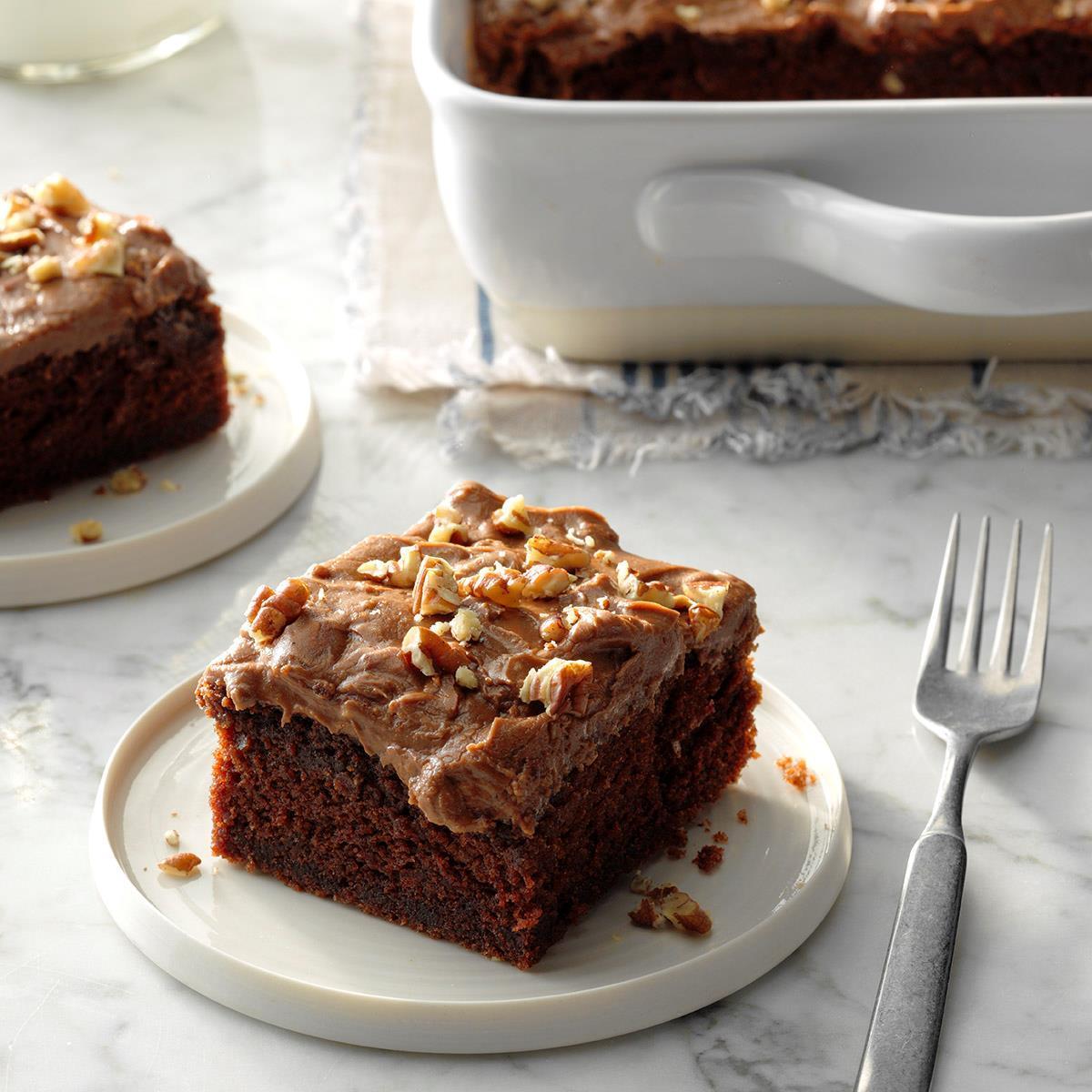 Cinnamon Chocolate Cake image