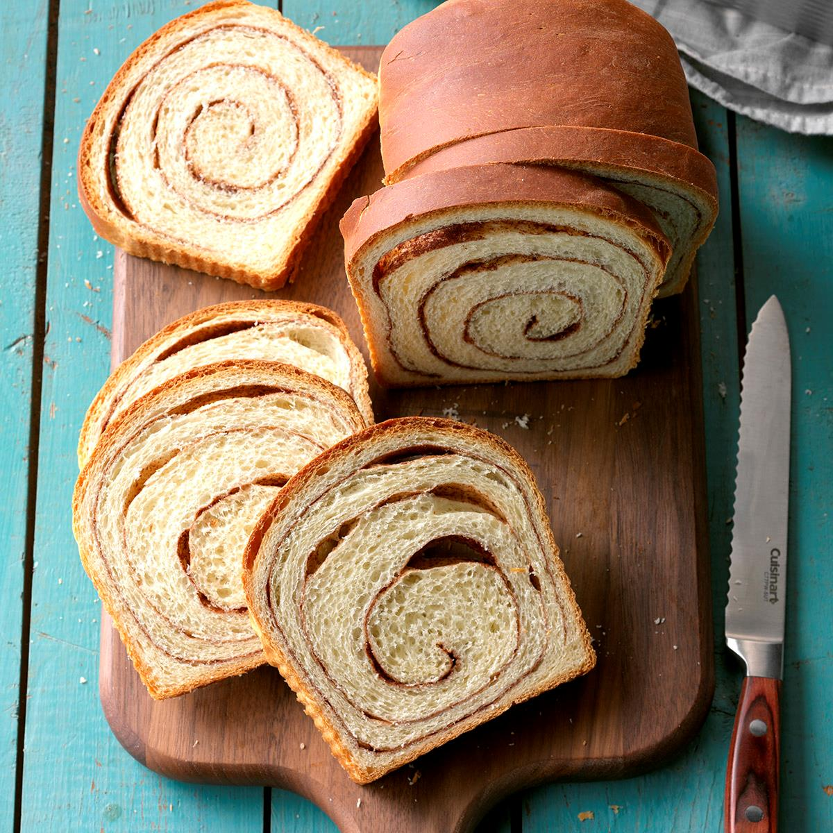 Cinnamon Swirl Bread Recipe How To Make It Taste Of Home