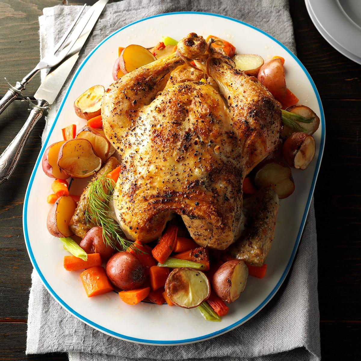Citrus-Herb Roast Chicken image
