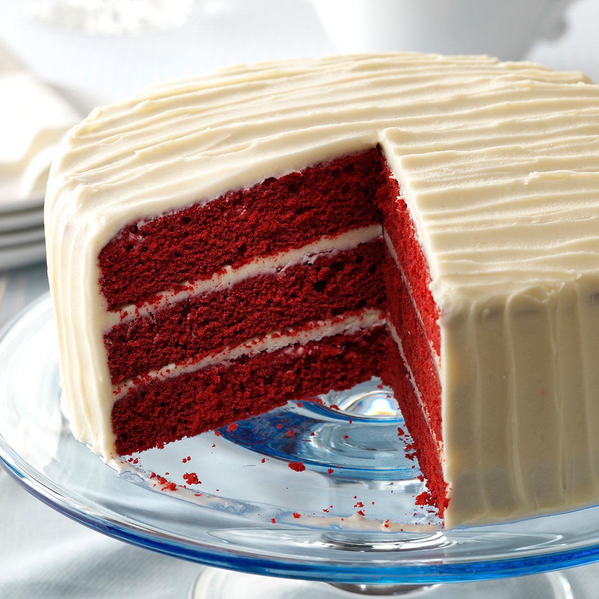 Classic Red Velvet Cake Recipe How To Make It Taste Of Home