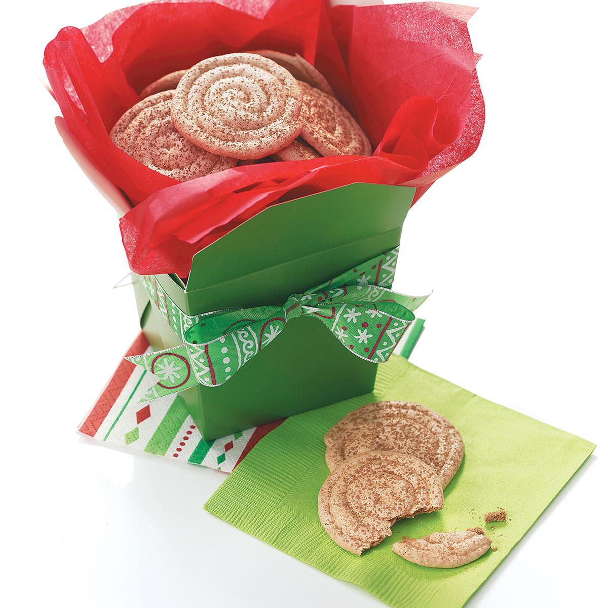 Cocoa-Almond Meringue Cookies image